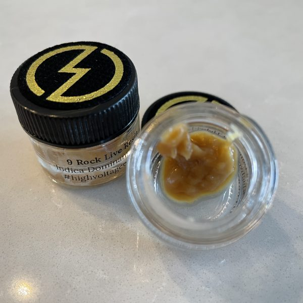 9 Rock (Indica Hybrid) Live Resin | High Voltage Extracts