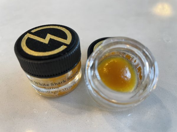 Great White Shark (Sativa) Sauce | High Voltage Extracts