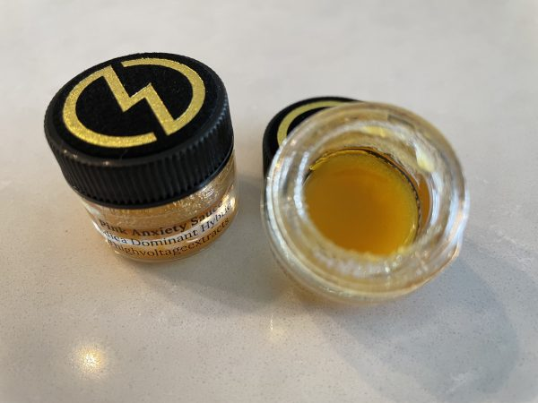 Pink Anxiety (Hybrid Indica) Sauce   High Voltage Extracts