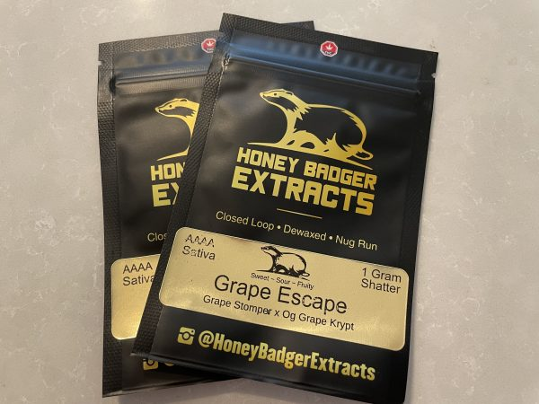 Grape Escape Shatter | Honey Badger Extracts